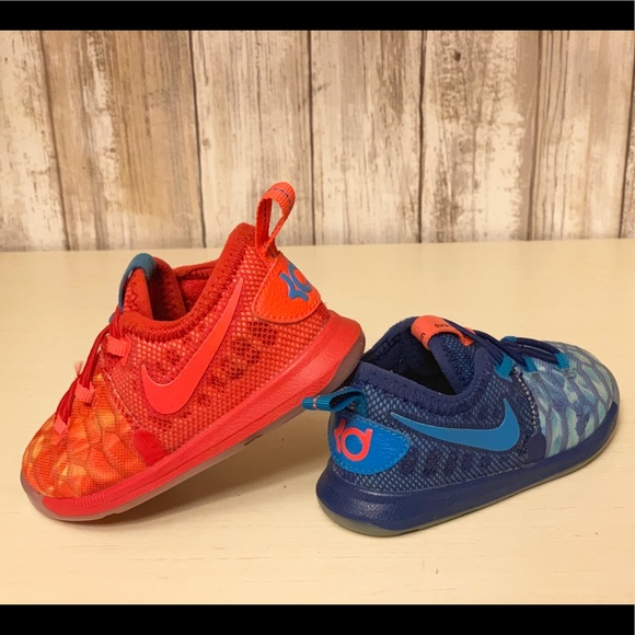 """reputable site 71e27 88504 Toddler Nike KD 9 """"Fire & Ice"""